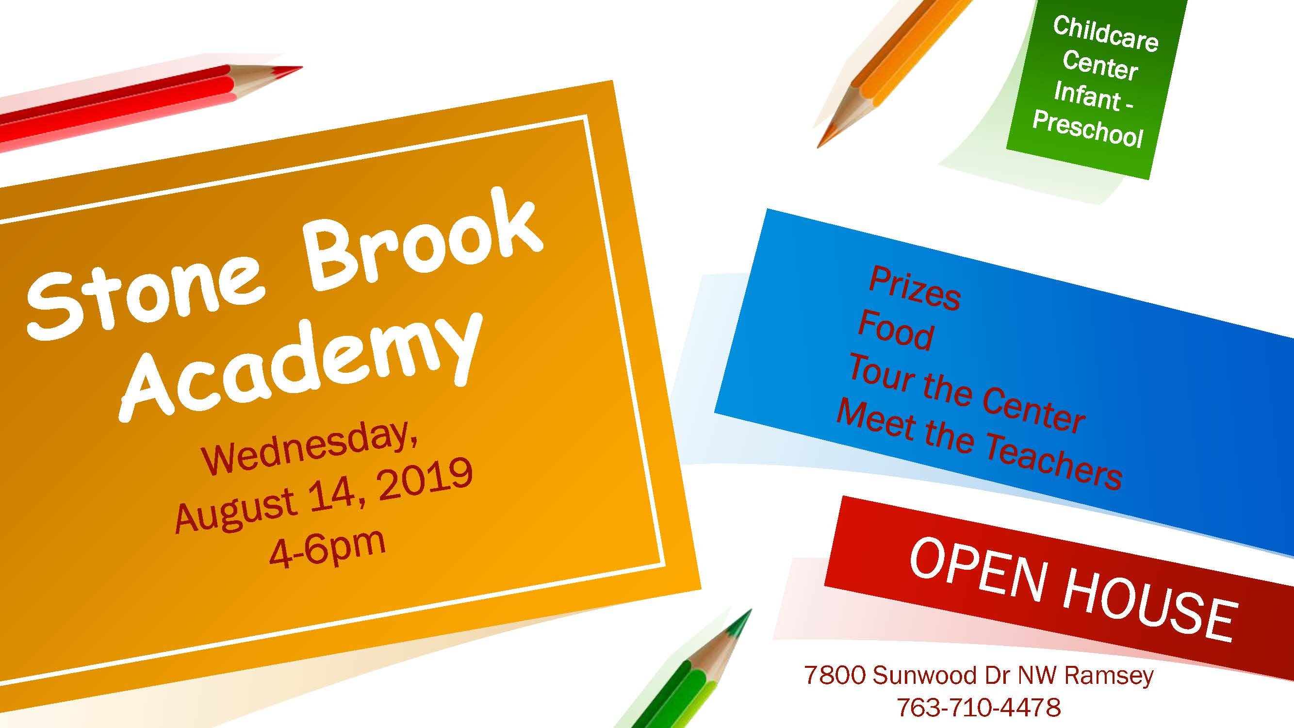 Stone Brook Academy open house
