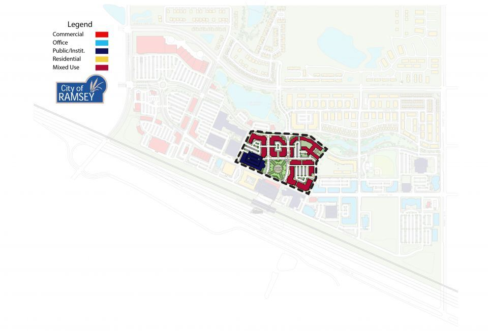 Downtown District COR Site Plan